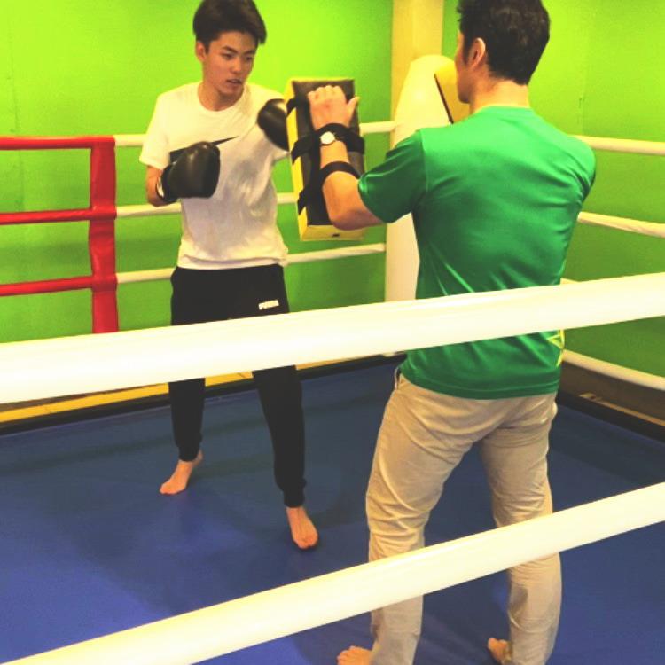 笹塚 キックボクシング 練習 レンタルスタジオ
