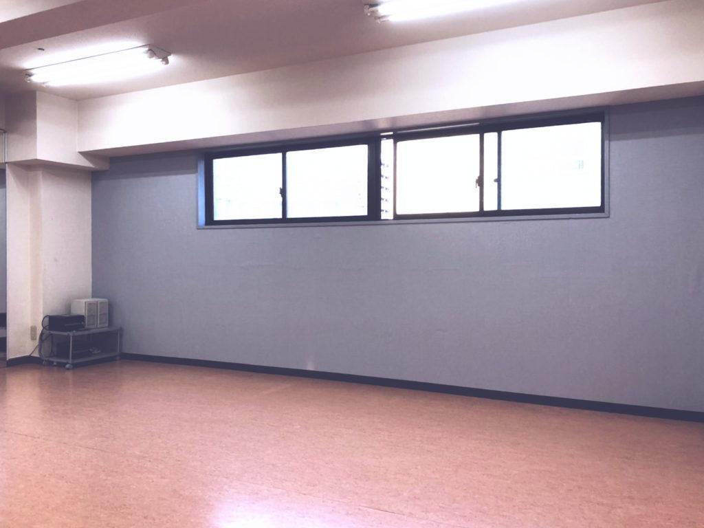 京王線 笹塚 レンタルスタジオ 渋谷区 東京 京王線 教室 ダンススタジオ 壁クロス